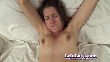 Hot wife slut takes cuckolding POV creampie in stockings - Lelu Love