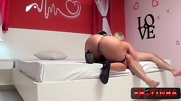 Blonde got cock in all holes -  - Cibele Mancinni - Frotinha Porn Star -  -