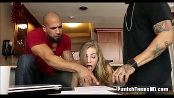 Teen Roommate Punished For Not Paying Rent - PunishTeensHD.com porno izle