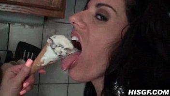 Kitchen Fucking And A Giant Titty Cumshot Vorschaubild