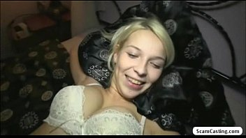Blonde beauty Dominica shows her curves in a fa... | Video Make Love