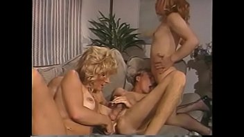 Horny blonde shemales dildo - Two blonde shemale sluts play with dildo in their boyfriend asshole