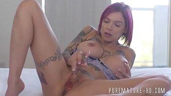 Sexy Tattooed Milf With Big Tits Banged Hard