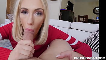 WTF ! Stepdaughter Sky Pierce Fucked her STEPDAD
