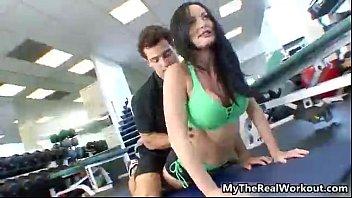 nice gym work out