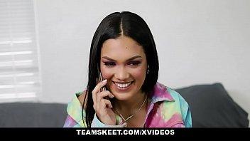 TeenPies - Virgin Chick Alina Belle Gets Creampie From Nosy Neighbor