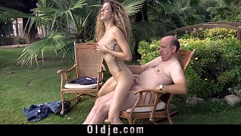 Tube8 grandpa sex Cute curly teen gets laid with fat grandpa