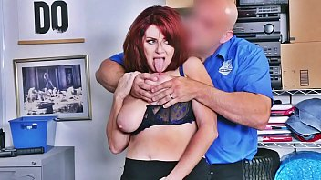 Mature Redhead Shoplifter Andi James Fucked And Punished