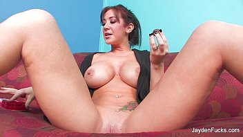 Jayden Jaymes's Abnormal Solo with Chocolates