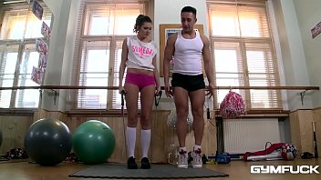 Gym Fuck With Sexy Teen Babe Agness Makes You Cum Hard All Over Your Screen
