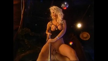 Lap dancer fucked on stage by spectators!