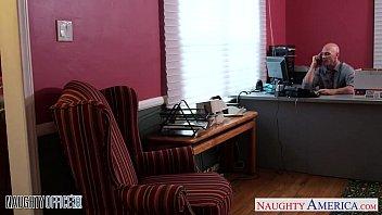 stockinged office babe brandi love gets nailed [Stasyq Download] thumbnail