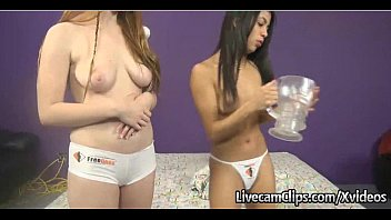 Amateur Live Cam Two Hot Teen Girls Been Naughty To Perv Santa