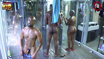 Naked showering men - Big brother africa hotshots shower hour day 25 - sheillah and nhlanhla