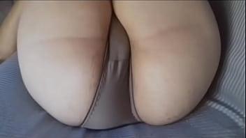 Big booty candid vpl panties line brasil