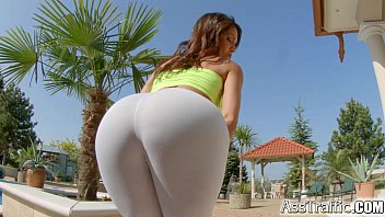 Fiskars xxx Ass traffic double penetration for hot spanish chick