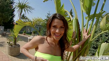 Ass Traffic Double penetration for hot spanish chick thumbnail
