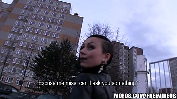 Freaky Czech couple is paid cash for a threesome