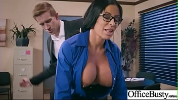 Hard Sex Tape In Office With Big Round Tits Sexy Girl (Simone Garza) video-29