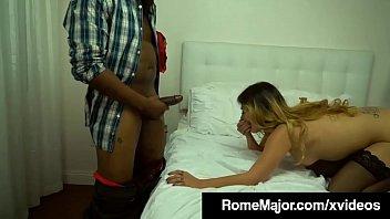 Black Stallion Rome Major Gives Camille Lixx Anal Creampie!