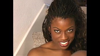Pantyhose black girl Monique pantyhose solo