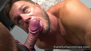 Gay bars berlin German hunk gets seduced and fucked by horny muscle daddy in fetish store