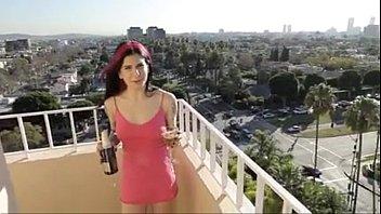 Joanna angel fucking a vodka bottle