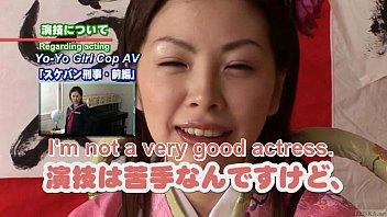 Subtitled Japanese Av Star Monbu Ran Uncensored Blowjob Party