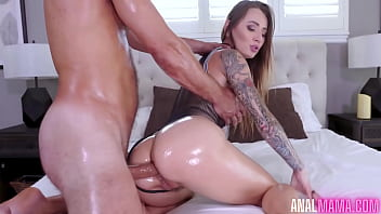 Oiled and Ready Natasha Starr