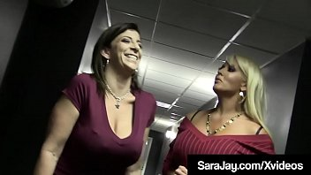 Muff Diving Divas Sara Jay & Alura Jenson Fuck Crazy Couple!