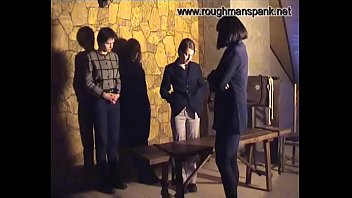 Russian slave Spanking 1#