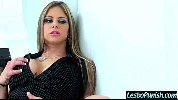 Lez Girl (lexxxi&amp_rachel) And Mean Girl In Punish Sex Tape clip-26