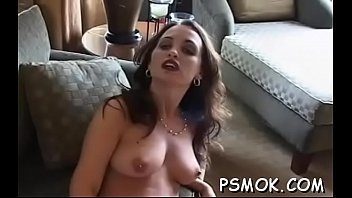 Fascinating darling gets her fingers busy as she strips