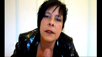 Best German Mom Heels PVC POV. See part 2 at goddessheelsonline.co.uk