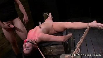 Heather mills porn spread eagle Tied up spread babe throat and pussy fucked