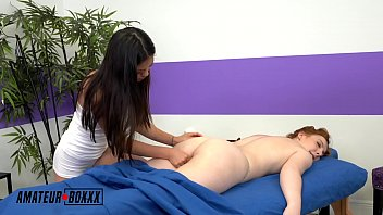 AmateurBoxxx - Petite Asian Gives Redhead a Happy Ending