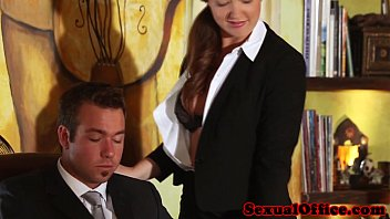 Filthy ass obsession part 3 - Classy redhead officebabe banged by the boss