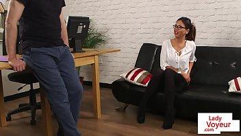 british spex voyeur instructs and watches