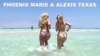 Alexis Texas and Phoenix Marie Go To The Beach, And Then Fuck! (ap8307) porn image