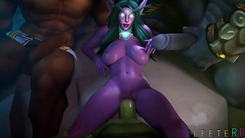 Sexy hentai elf vid Fapzone // tyrande world of warcraft