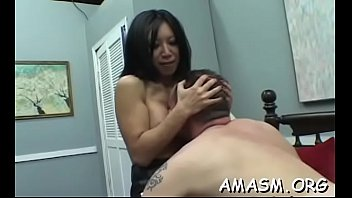 Naked females domination on man in sexy smothering video's Thumb