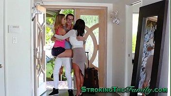 Teen stepsister spunky