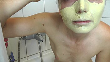 Young slim tender pee fetish beauty shower shaving masturbating inserting anal