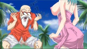Hentai manga dragon ball Bullma e mestre kame