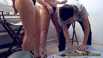 3some 1 guys 2 girls - Kumalott - nerd tech guy trapped by 2 bimbo blonde pornstar