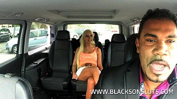 Black Cab Driver Fucks German Slut