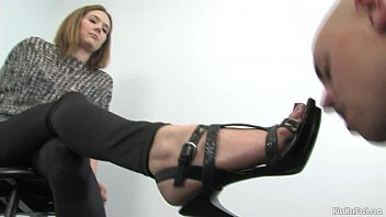 Men who fuck feet shoes Foot fetish domination by mistress star