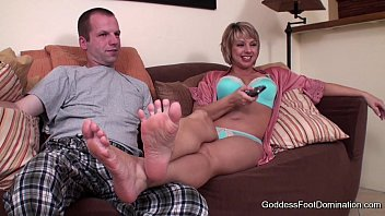 Foot domination movie Movie night