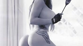 Denise Rocha mostrando sua bucetona na playboy