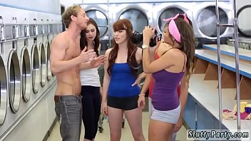 Mom fucks compeer' compeer's sons white Laundry Day